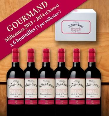 GOURMAND / 6 bouteilles