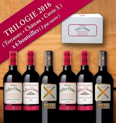 TRILOGIE 2016 / 6 bouteilles
