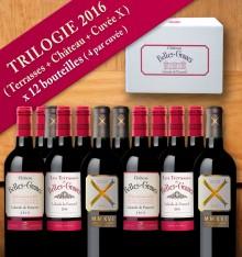 TRILOGIE 2016 / 12 bouteilles